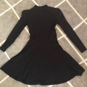 American apparel black dress backless dress SIZE S